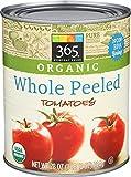 365 Everyday Value, Organic Whole Peeled Tomatoes, 28 oz
