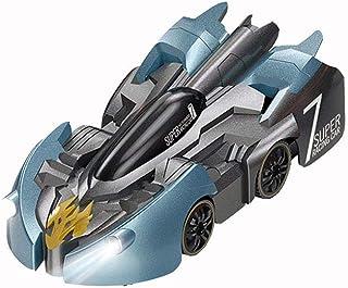 سيارة مقاومة لللجاذبية من ار سي سقف جدار تسلق، التحكم 360 بحيل دورية، نموذج سيارة مقاومة للجاذبية مع التحكم عن بعد (أزرق)