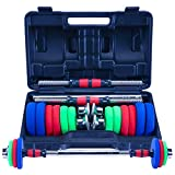 Zoe home 30kg de Levage réglable Fitness Haltère Kit Poids 2 en 1 Famille & Gym Set dédié Haltère Barbell (Taille : 15KG)