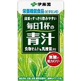 毎日1杯の青汁 食物せんい&乳酸菌り 無糖タイプ(紙パック) 125ml 1箱(18本)