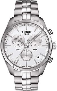 تيسوت ساعة رسمية رجال انالوج بعقارب ستانلس ستيل - T1014171103100