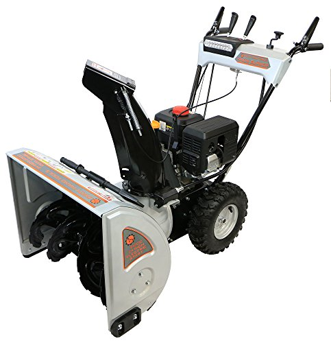 Dirty Hand Tools 106371 - Self-Propelled, Dual Stage, 212cc Loncin Engine, 24  Snow Blower