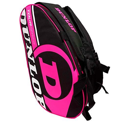 Dunlop Paletero de pádel Tour Intro Negro/Rosa Flúor