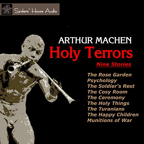 Holy Terrors audiobook cover art