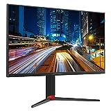 LC-POWER LC-M27-4K-UHD-144 - Pantallas Planas de Monitor de PC de 27', resolución de Pantalla 4K Ultra HD de 3840 x 2160, 144 Hz, Mecanismo Giratorio de 90 °, Soporte de Altura Ajustable