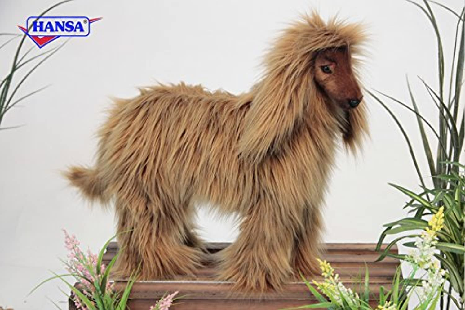 Hansa Afghan Hound Plush Soft Toy by 40cm.4131