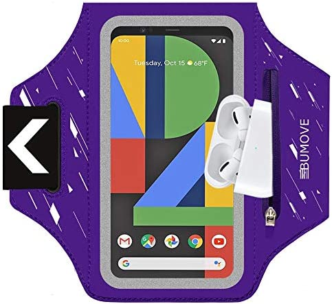 Pixel 4 XL 3a XL Armband BUMOVE Gym Running Workouts Sports Phone Arm Band for Google Pixel product image