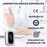Zoom IMG-1 saturimetro da dito professionale certificato