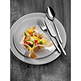 WMF Palma Besteckset, 12 Personen, 60-teilig, Monobloc-Messer, Cromargan Edelstahl poliert, glänzend, spülmaschinengeeignet - 2