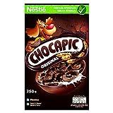 Cereales Nestlé Chocapic - Cereales de trigo y maíz tostados con chocolate - 14 paquetes de cereales 375g