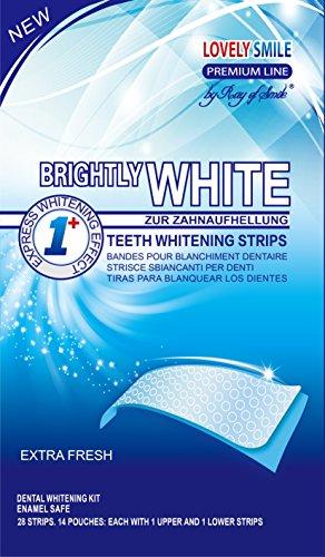 Lovely Smile Bright White Strips 28 Bandas
