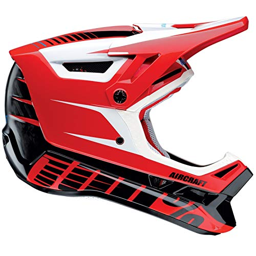 Casco Integrale Mtb 100 Percent Aircraft Dh - With Mips Blazer (L , Rosso)
