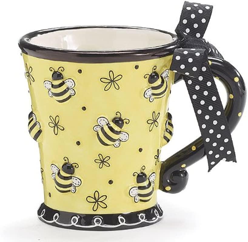 Burton Burton Raised Design 10oz Bee Mug