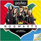 Harry Potter Calendar 2021 Bundle - Deluxe 2021 Harry Potter Mini Calendar with Over 100 Calendar Stickers (Harry Potter Gifts, Office Supplies)