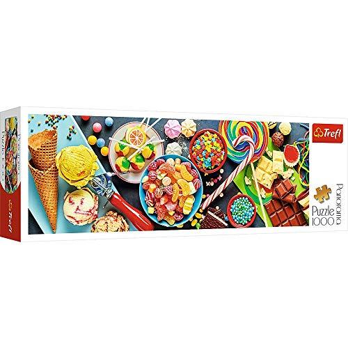 trefl 29046 Puzzle Panorama Modello Douceurs 1000 Pezzi, Multicolore