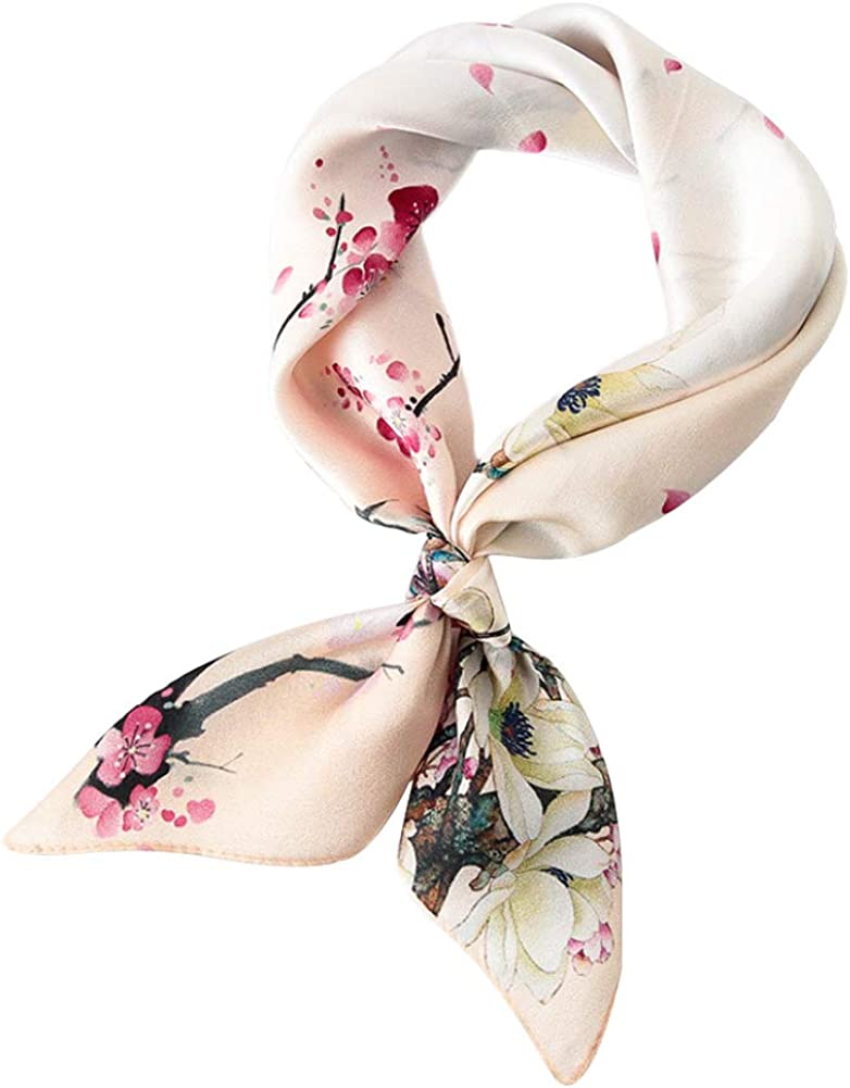 Soft Scarves Women Fashion Head Scarf Headdress Head Neck Scarf Fashion Accessory For Handbag, 20