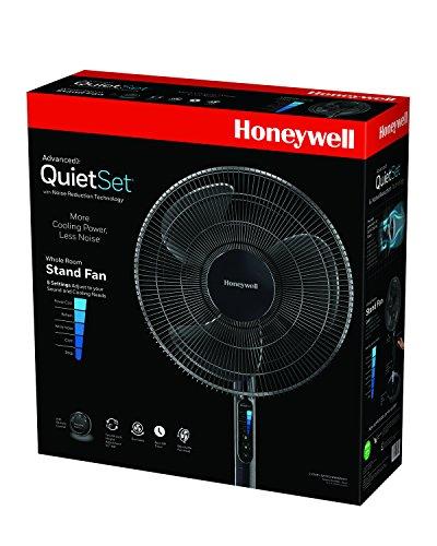 Honeywell HSF600B Advanced Quiet Set Whole Room Pedestal Fan