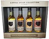 Coffee Shop Collection Sirops de café 1 Noisette 1 Caramel 1 Vanille 1 Toffee