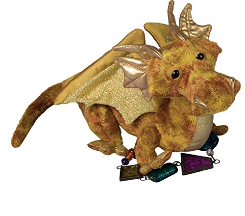 Douglas Topaz Golden Dragon Plush...