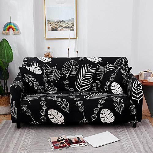 Fsogasilttlv Protector Cubierta para sofá 1 Plaza, Funda de sofá de algodón con Estampado Floral, Funda de Toalla, Fundas de sofá para Sala de Estar Que protegen los Muebles M