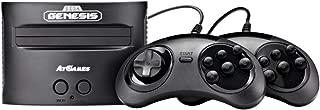 Sega Genesis Classic Game Console and Sega Gear, Black (Renewed)