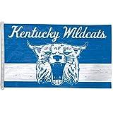 NCAA Kentucky Wildcats Cat College Vault Flag Deluxe, 3 x 5-Foot