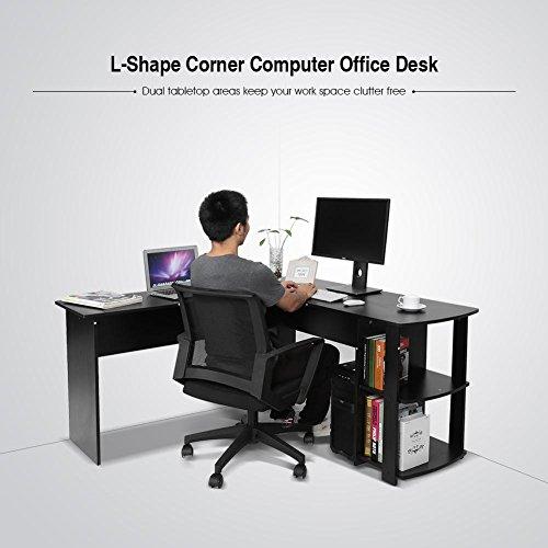 Yosoo Forma - L Mesa Escritorio de Computadora, PC, Ordenador ...