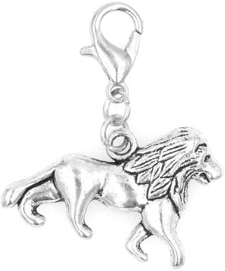 It's Gorgeous All About...You Lion Clip on Necklaces a Charm Perfect Washington Mall for