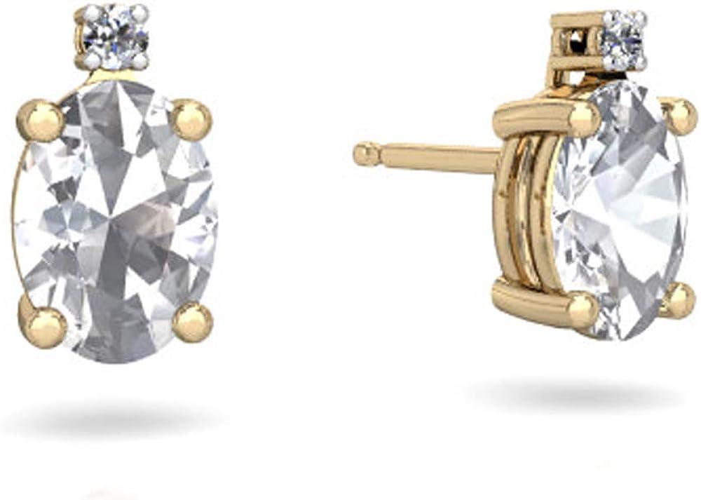 Dividiamonds 2 Ultra-Cheap Deals CT 8x6 mm Diamond White Direct sale of manufacturer Oval CZ Cut
