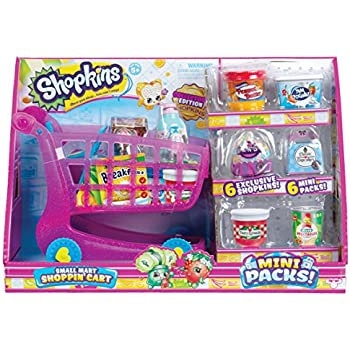 Shopkins Mini Packs Small Mart Shoppin' Cart   Shopkin.Toys - Image 1