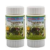 HERBAL HILLS Super Vegiehills 60 Tablets (Pack of 2) - Daily Vegetables in a tablet Super Vegie Supplement