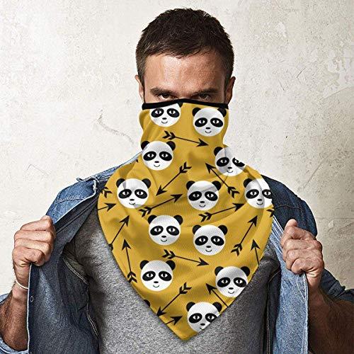 July liefde ogen grijze beer windbescherming bandana sjaal gezichtsmasker wasbaar stofmasker bivakmuts