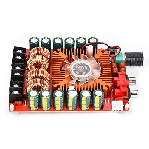 Placa amplificadora de potencia de audio Certain, altavoces de unidad estéreo dual Módulo de placa amplificadora 2x160W Fabricado en plástico