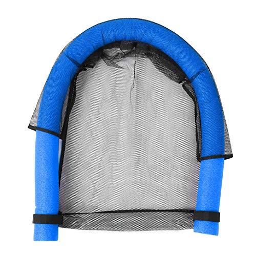 SALUTUYA Silla de Piscina Flotante Net Kids Silla de natación, para Nadar, para Deportes acuáticos(Blue)