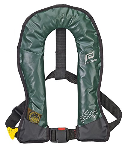 PLASTIMO 63760 Gilet Gonflable Mixte Adulte, Vert, Normal