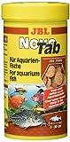 JBL NovoTab 30240 Alleinfutter fr fleischfressende Aquarienfische, Tabletten 250 ml