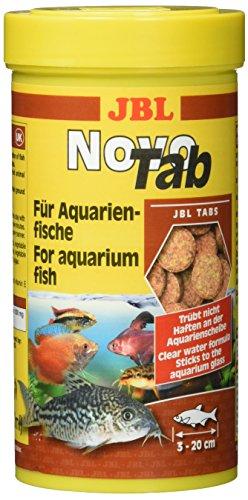 JBL NovoTab Alleinfutter für fleischfressende Aquarienfische, Tabletten 250 ml, 30240