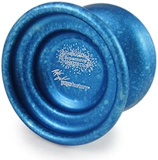 YoYoFactory SuperNova Yo-Yo - Blue with Silver Acid Splash