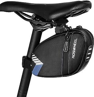 Roswheel 131412-A Bicycle Saddle Bag Seat Post Storage Tail Pouch Cycling MTB Road Bike Rear Pannier