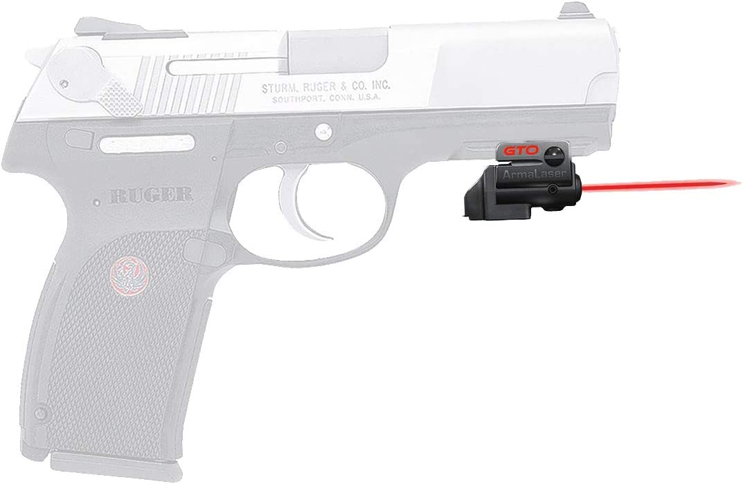 ArmaLaser Designed to fit Ruger P345 and FLX Our shop most popular Safety trust Laser Red GTO Sight