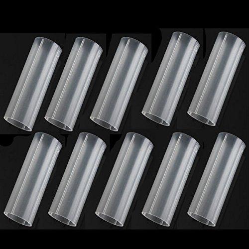 Global 10 stücke 18650 kunststoff Batterie rohre 6 cm für 18650 taschenlampe