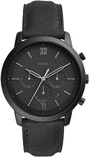 Fossil Neutra Analog Black Dial Men's Watch-FS5503