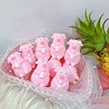 Swiftswan Simpatico Cartone Animato Rosa Maiale spremitura urlando esausto Piggy Bottle Pig Doll Carino esaurito