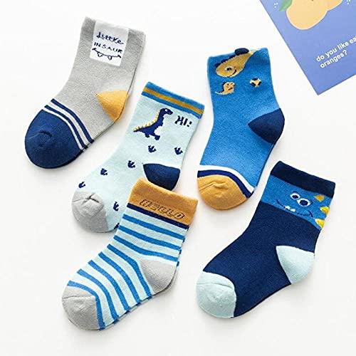 MIWNXM 10 Pares Infant Baby Kids Socks Autumn Baby Socks Girls Cotton Cartoon Boy Toddler Socks For Children S Socks