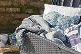 Keter Auflagen- und Universal Rattan Style Box Capri, 305 L, grau - 5