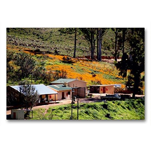 CALVENDO Premium Textil-Leinwand 90 x 60 cm Quer-Format Farm in den Cederberg Mountains, Südafrika, Leinwanddruck von Richard Walliser