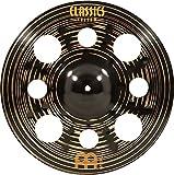 MEINL Cymbals Classics Custom Dark Trash Crash - Bicicleta (ruedas de 16')