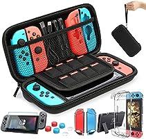 HEYSTOP Accesorio Compatible con Nintendo Switch Funda Compatible con Nintendo Switch Funda de Transporte para Nintendo...