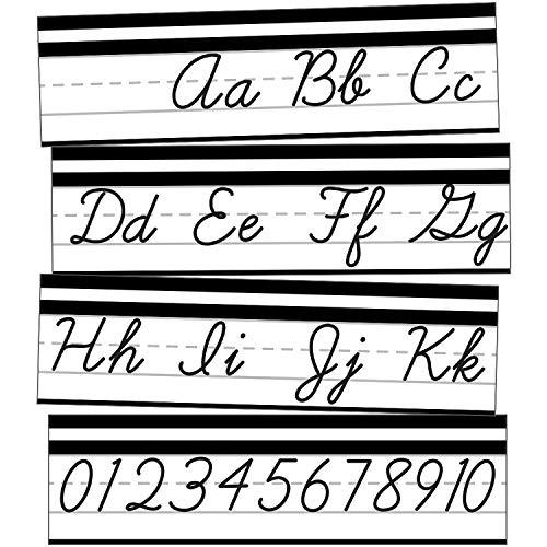 Schoolgirl Style - Simply Stylish | Alphabet Line | Cursive Mini Bulletin Board Set