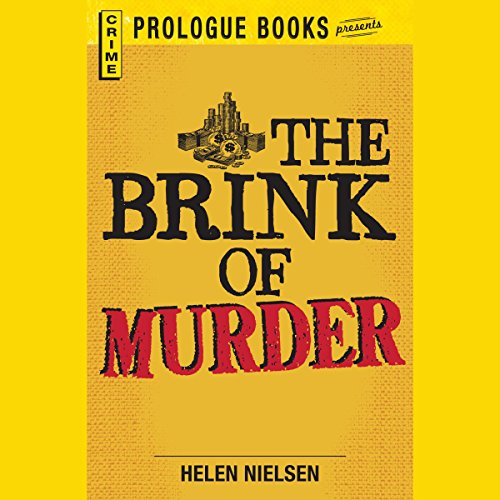The Brink of Murder audiobook cover art